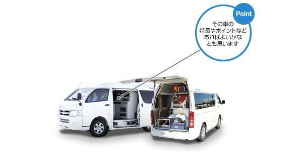 テレビカメラ搭載車