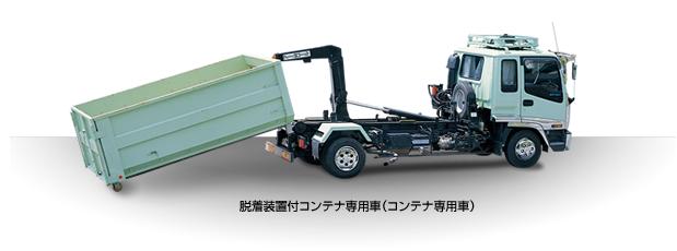 脱着装置付コンテナ専用車(コンテナ専用車)